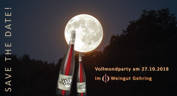 Vollmond-Party am 27.10.2018 - Block the Date!